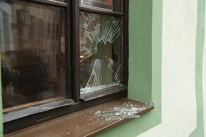 A2B Glass are able to board up broken windows while they are being repaired in Greenford.